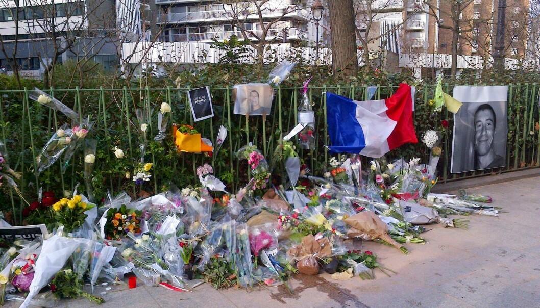 Etter at terroren rammet Paris to ganger i 2015, ble NKVTS bedt om å bistå franske forskere og samfunnsmedisinere. (Foto: AFP / NTB Scanpix)