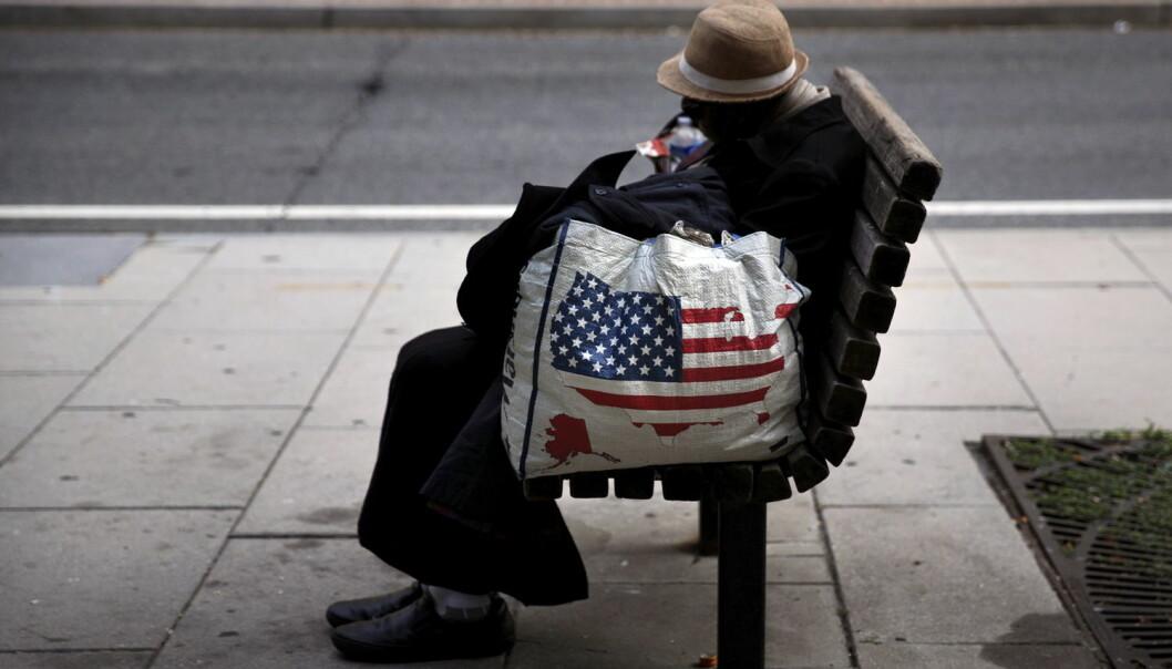 Det har blitt vanskeligere for amerikanerne å få det bedre enn foreldrene sine. Noen ender som hjemløse. (Foto:Carlos Barria/Reuters/NTB scanpix)