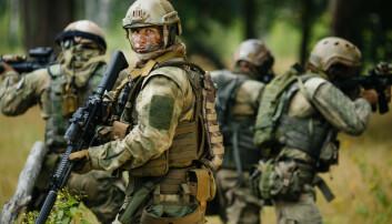 – Soldater leker når de er i krig