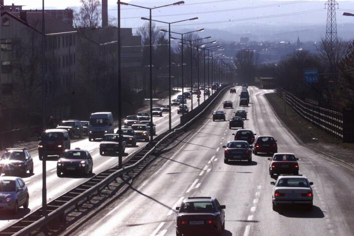 Oslo har noen ganger store luftforurensningsproblemer. (Foto: (Illustrasjonsbilde: Bjørn Sigurdsøn/NTB Scanpix))