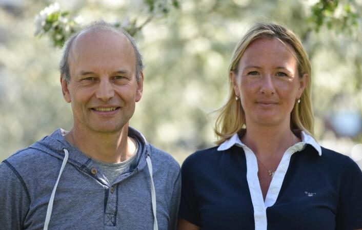 Peter Eklöv og Oona Lönnstedt. (Foto: Kristin Scharnwebber)