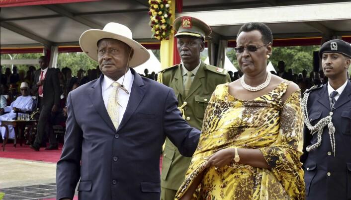 Yoweri Museveni kom til makten etter et kupp i Uganda i 1986 og har styrt landet siden. (Foto: AP / NTB scanpix)