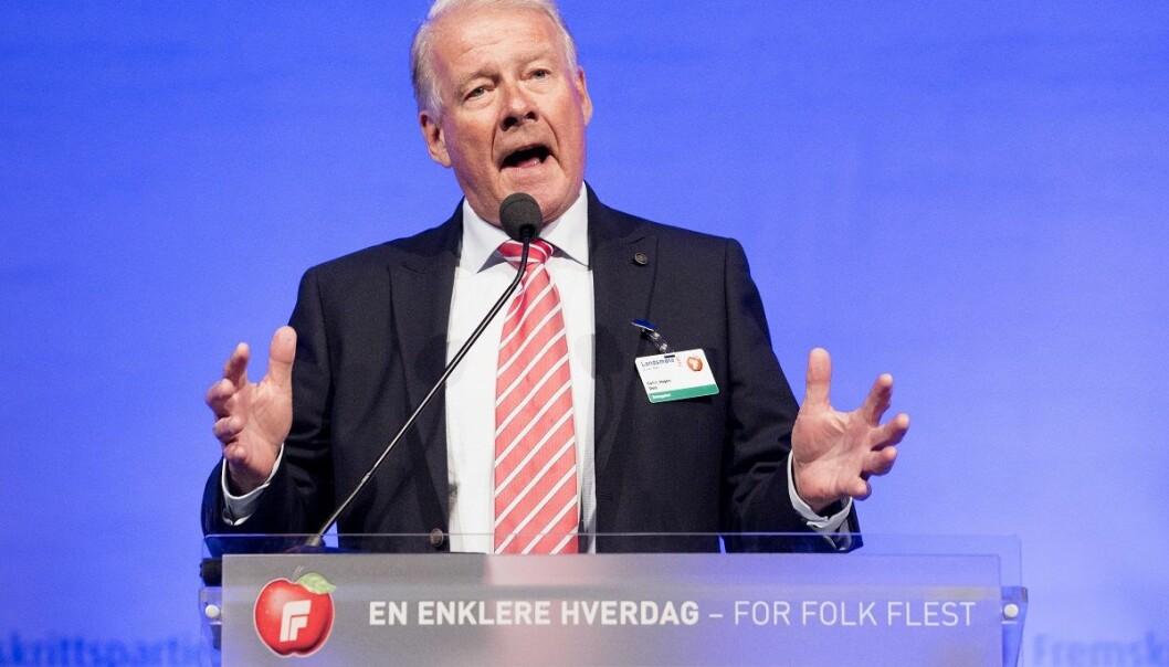 Hadde Carl I. Hagen rett hele tiden, da han omtalte NRK som ARK - Arbeiderpartiets rikskringkasting? (Foto: Håkon Mosvold Larsen, NTB scanpix)