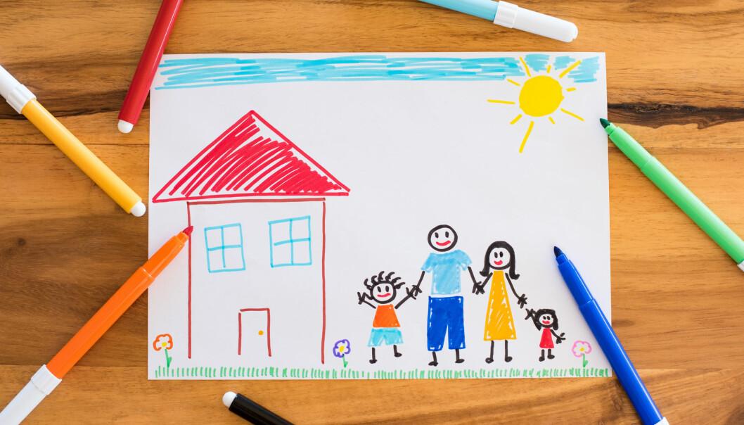 Ny studie viser at adoptivforeldre ønsker seg mer støtte etter at adopsjonen er gjennomført. (Foto: Shutterstock / NTB Scanpix)