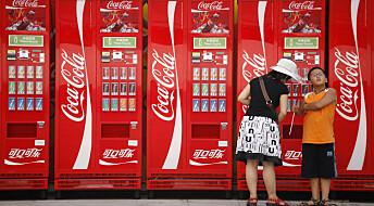 Slik påvirker Coca-Cola kampen mot fedme i Kina