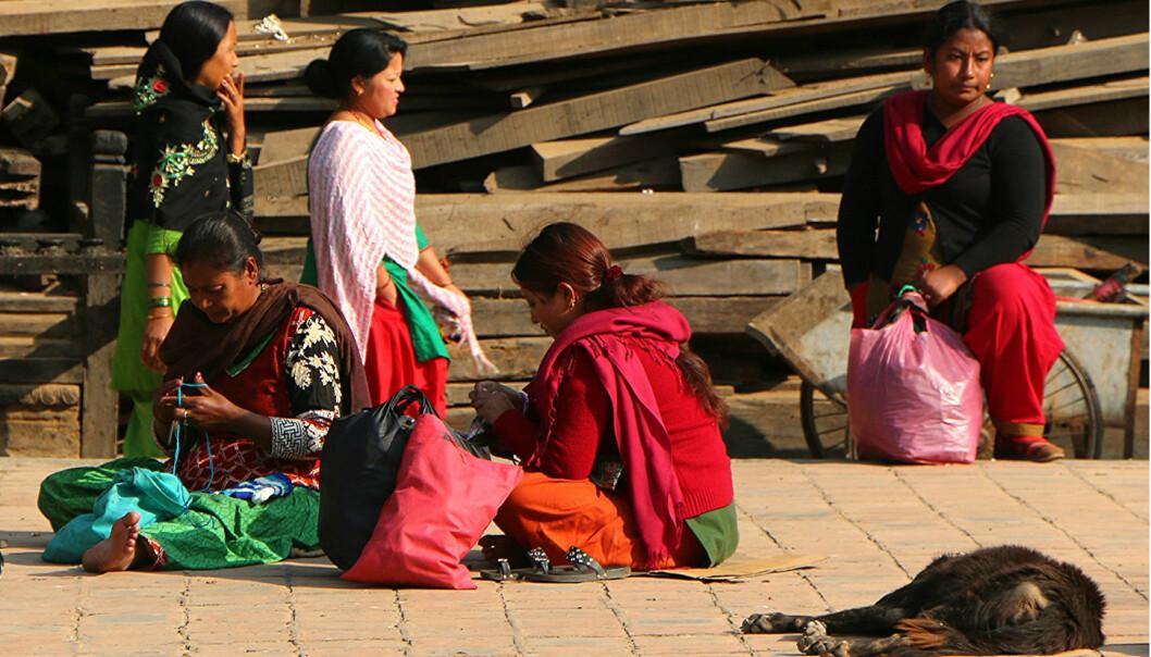 Ein studie på 300 barn og ammande kvinner i ein landsby i Nepal viste at både mødrene og barna hadde gode nivå av dei marine feittsyrene ein vanlegvis får gjennom sjømat.  (Foto: Juan Antonio F. Segal/Flickr CC BY-SA 2.0)