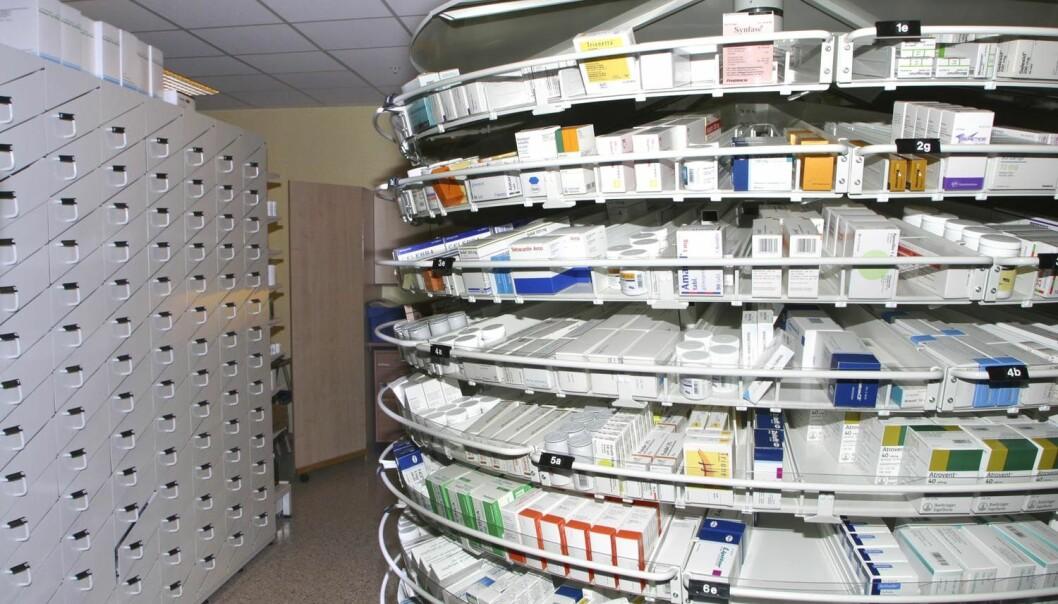 Flere typer protonpumpehemmere ligger på lista over de 30 mest solgte legemidlene i Norge.  (Foto: NTB scanpix)