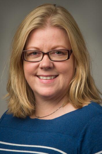 Prosjektleder og tannpleier Line S. Karlsen, TkØ. (Foto: Terje Skåre. Opphavsrett: TkØ)