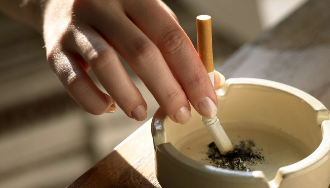 De som fikk kognitiv atferdsterapi for å mestre å slutte, lyktes best med røykekutt.  (Foto: Shutterstock)