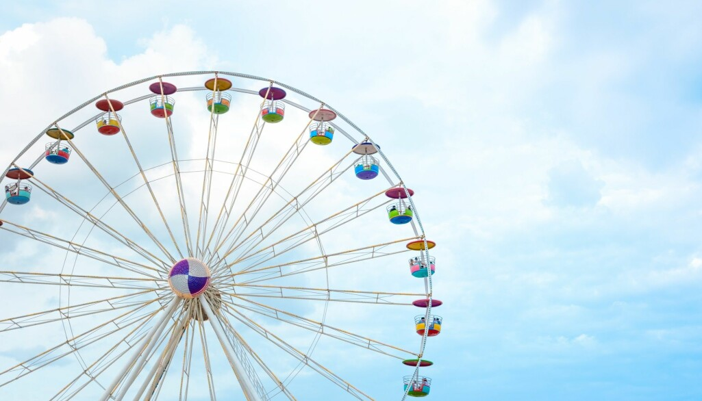 Føler du at du reiser rundt på en års-sirkel?