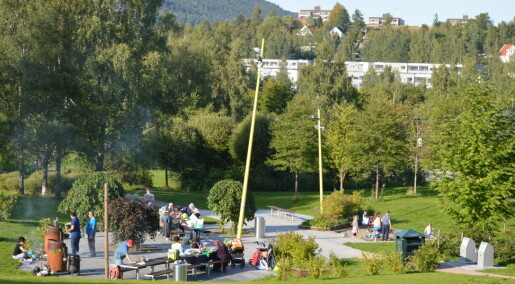 Innvandrere setter mer pris på Oslos parker enn bymarka