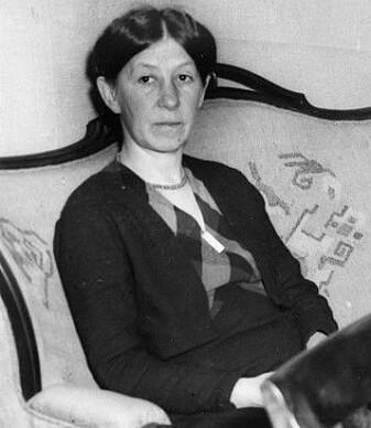Ellen Gleditsch cirka 1935. (Foto: Oslobilder, CC BY-SA 3.0 NO)
