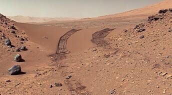 Slik lager du murstein av Mars-jord