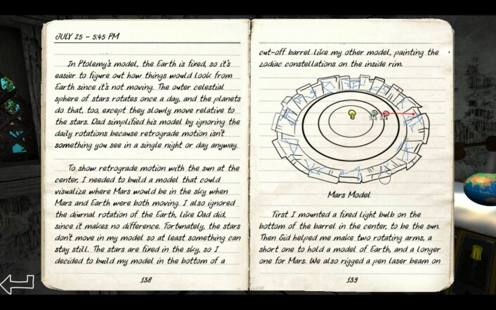 To av mange, mange sider som må leses i løpet av spillet. Dette skal ha blitt skrevet av en 13-åring. Hmm. (Foto: Skjermdump)