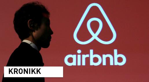 Airbnb og Booking.com har gjort det lettere og billigere å reise, men flere turister er ikke det samme som verdiskapning