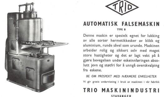 Se nye, gamle hermetikkmaskiner