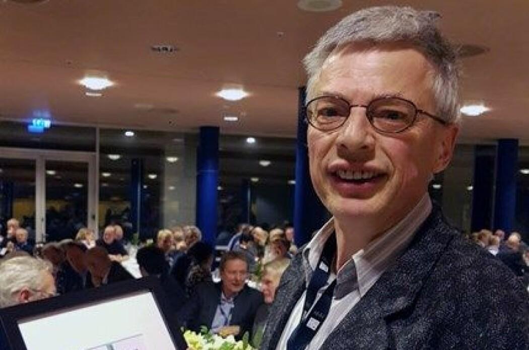 Norvald Monsen er professor ved Institutt for regnskap, revisjon og rettsvitenskap. (Foto: NHH)