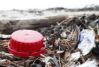 Havstrømmene fører mye plastsøppel mot Norges kyst