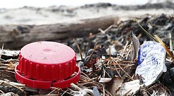 – Norge er et fangstnett for plastavfall