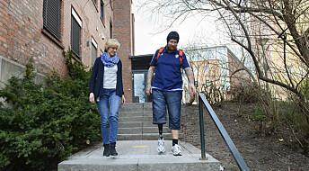 Vil gjøre livet enklere for protesebrukere