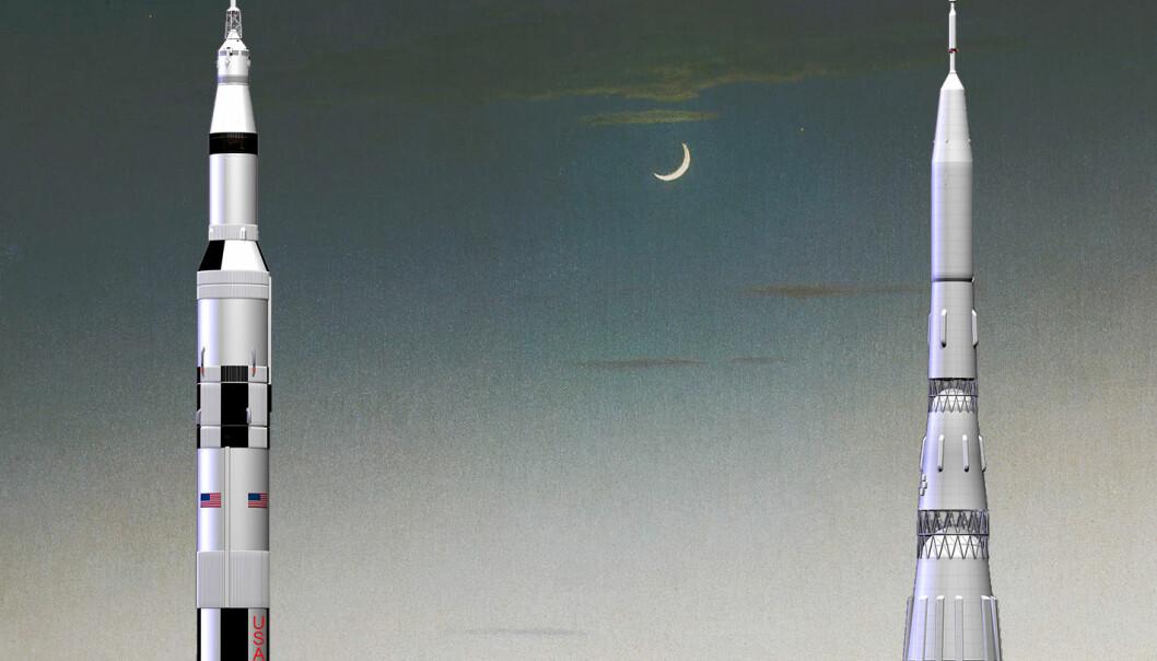 Russland vil sende mennesker til Månen før til Mars
