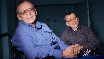 Tvillingene Bjørn og Tor Olsen deler en sykdom som nesten ingen andre i verden har.  (Foto: Erik Norrud)