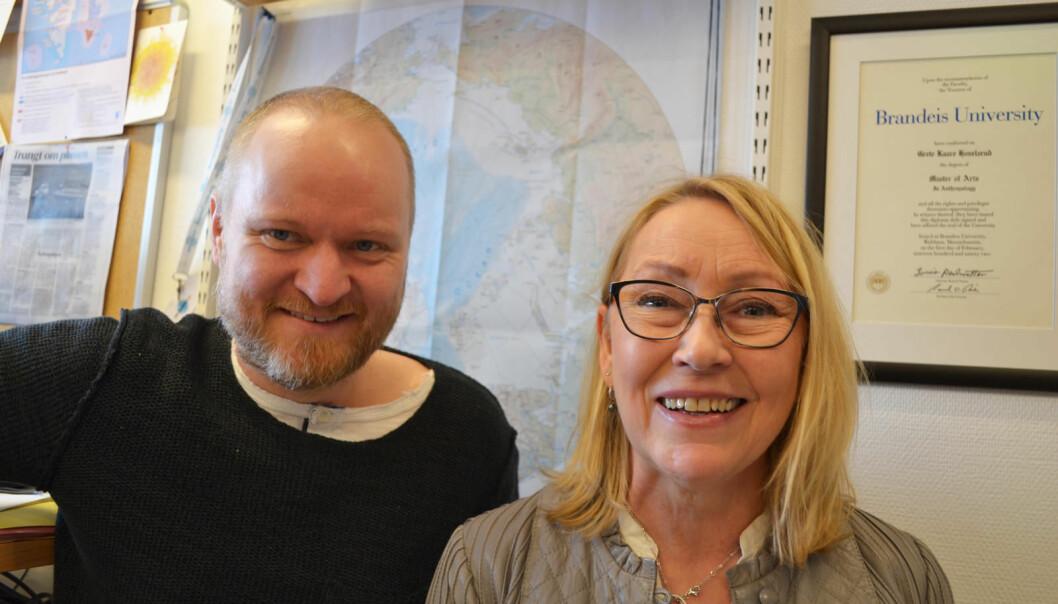 Brigt Dale og Grete Hovelsruds forskning havner på bordet til de arktiske utenriksministrene i mai. (Foto: Thoralf Fagtertun)