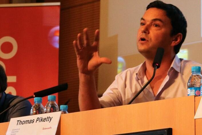 Den franske samfunnsøkonomen Thomas Piketty påviste hvordan kriger på en dramatisk måte har skapt økt økonomisk likhet. Under 2. Verdenskrig var det nettopp dette som skjedde i Norge. (Foto: B. Sutherton/CC BY-SA 4.0)