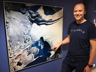 Alistair Everett er forsker ved Norsk Polarinstitutt. (Foto: Elin Vinje Jenssen / Norsk Polarinstitutt)