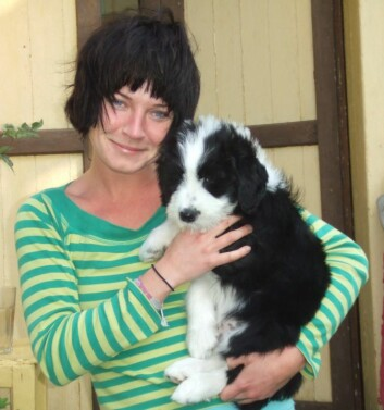 Cumulus og jeg for snart 11 år siden. Jeg har passet på ham som om han var barnet mitt siden den gang. (Foto: Linn Marie Bjørvik)
