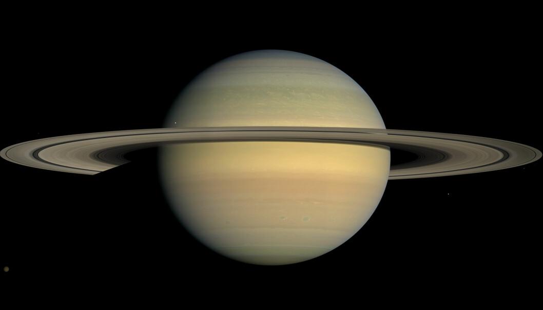 Saturn, også sett av Cassini. (Bilde: NASA / JPL-Caltech)