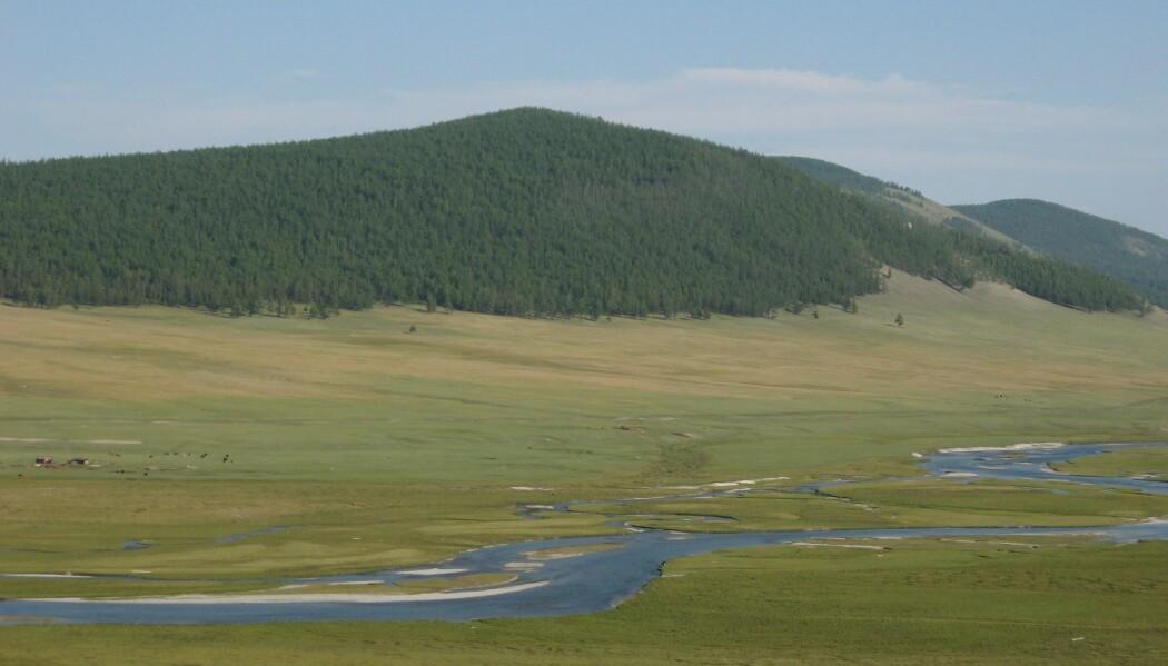 Nord i Mongolia levde det folk som trolig tilbrakte mye tid på hesteryggen allerede for 3000 år siden. (Foto: Yaan/Wikimedia Commons. CC 3.0)