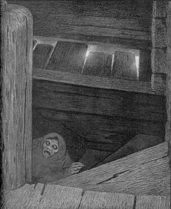 Theodor Kittelsens berømte tegninger av Pesta har farget vår oppfatning av den katastrofale pandemien. (Illustrasjon: Wikimedia Commons)