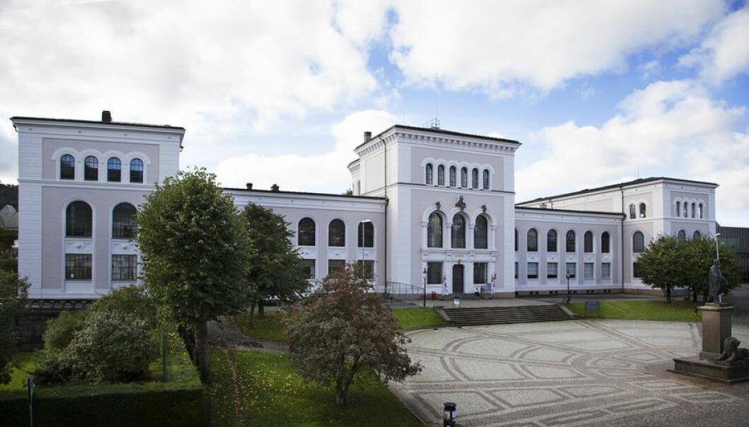 Universitetet i Bergen har aldri hatt så mange søkerer som i år. De nye mediefagene er blant de mest populære sammen med nyopprettede sivilingeniørprogrammer.  (Foto: Ingvild Festervoll Melien)