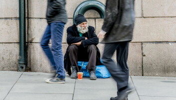 Tiggingen i Oslo er sjelden organisert av noen som tar profitten, ifølge forskere. (Foto: Stian Lysberg Solum/NTB scanpix)