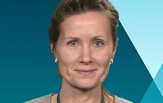 Maria N. Alme ved Høgskulen på Vestlandet (Foto: HVL)