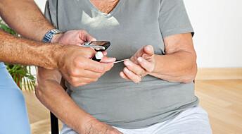 Pleiere mangler oversikt over hvem som har diabetes