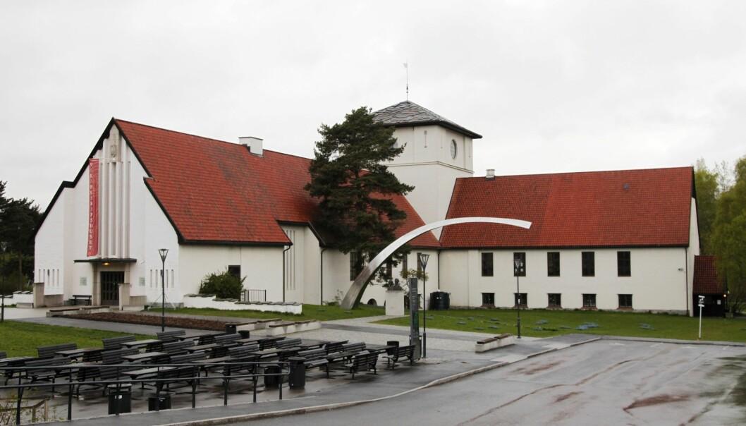 Vikingskipsmuseet på Bygdøy i Oslo slik det ser ut i dag. (Foto: Erik Johansen / NTB scanpix)