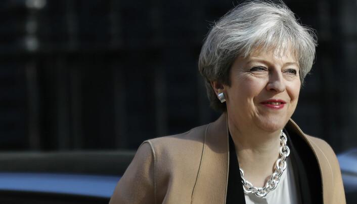Storbritannia-ekspert: Smart av May å gå til valg