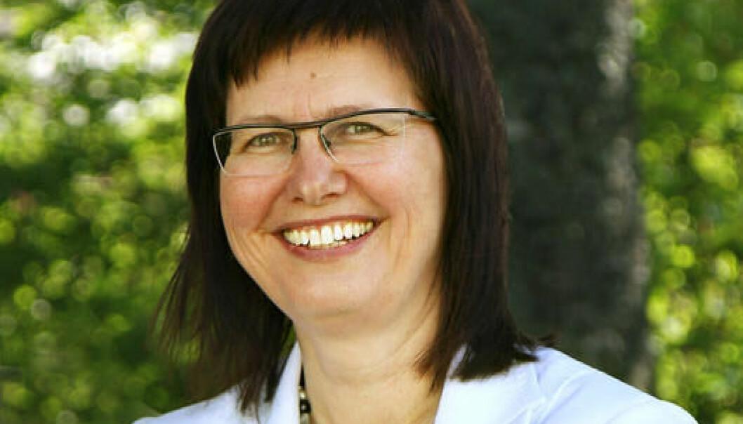 Professor Lise Iversen Kulbrandstad er utnevnt til hedersdoktor ved Karlstads universitet (KAU).  (Foto: INN)