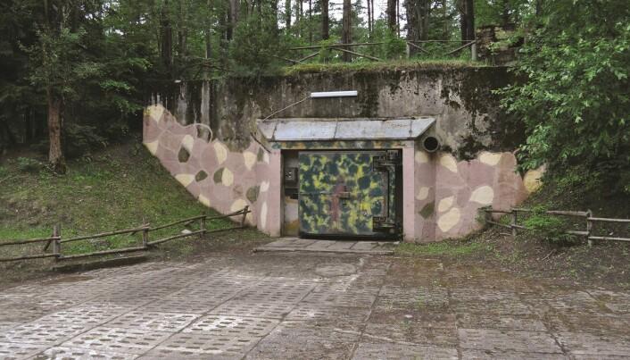 Inngangen til Podborsko-bunkersen. (Foto: Kiarszys/Antiquity 2019)