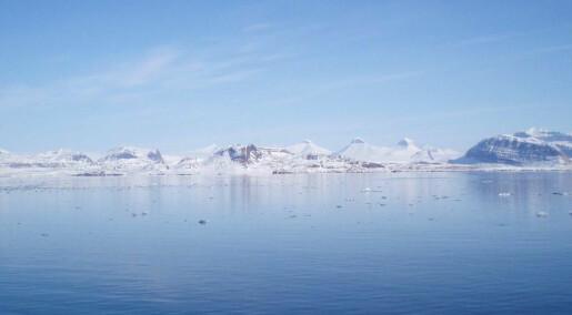 Svalbards vestlige fjorder har blitt varmere