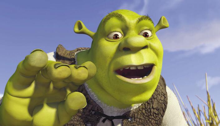 I Norge er det bare tegnefilmer og animasjonsfilmer som Shrek som blir dubbet. Voksenfilmer har i stedet nesten alltid undertekster på norsk. (Bilde: Paramount)
