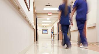 Mål- og resultatstyring i sjukepleia går på omsorga laus