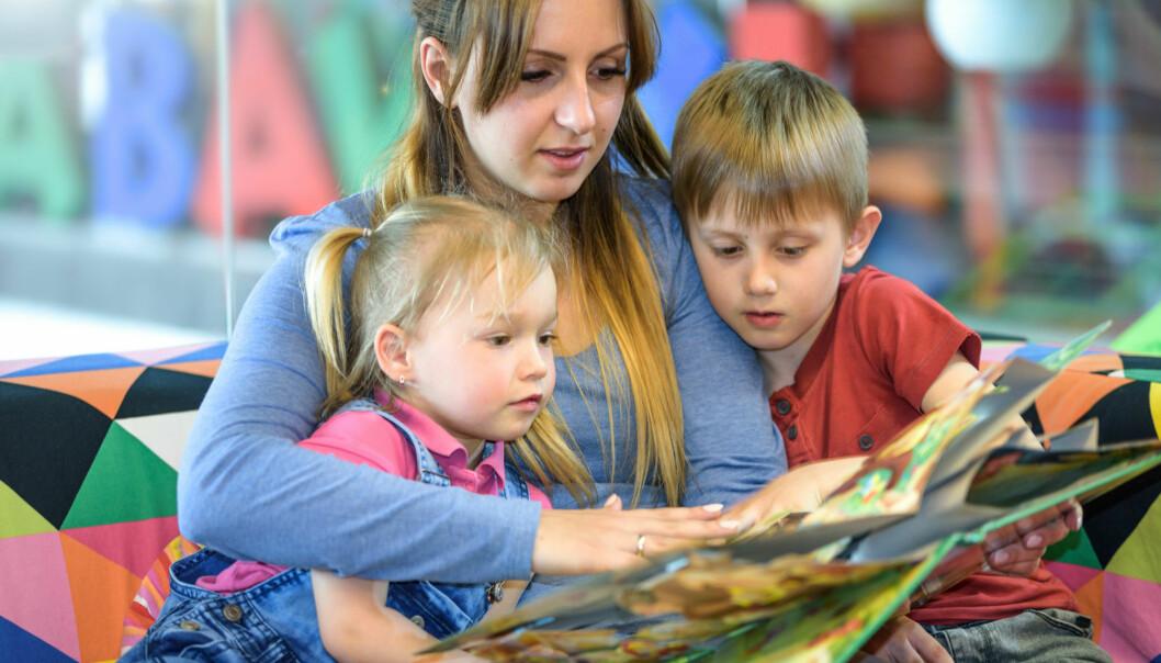 Studentene var bekymret for at barna ikke skulle forstå alle ordene i de nynorske bøkene. Men det viste seg at det ikke var så problematisk som de først hadde trodd.  (Illustrasjonsfoto: Colourbox)