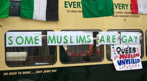 Homofile muslimar opplever dobbel diskriminering