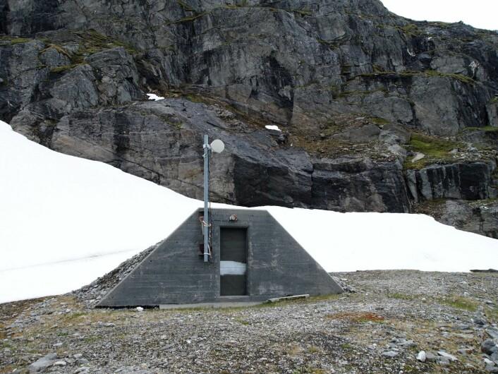 Tunnel entrance. (Foto: Paul Weber)