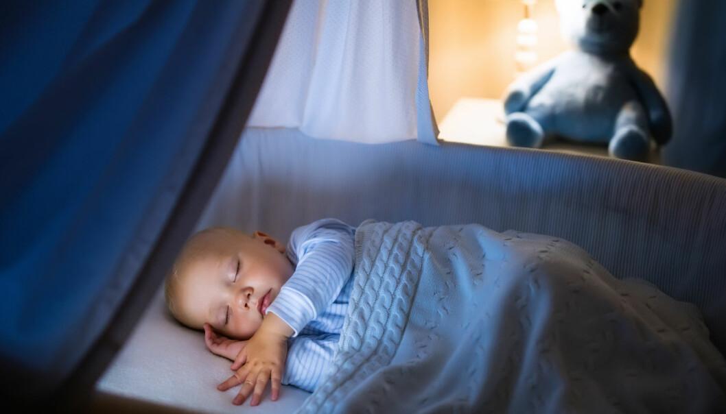 Danske babyer gråter mindre enn babyer fra andre land. (Foto: FamVeld / Shutterstock / NTB scanpix)