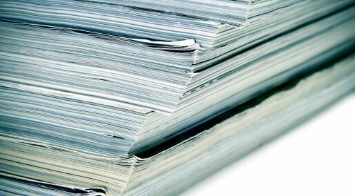 Vitenskapelige tidsskrifter vil ikke at forskere sjekker gamle resultater