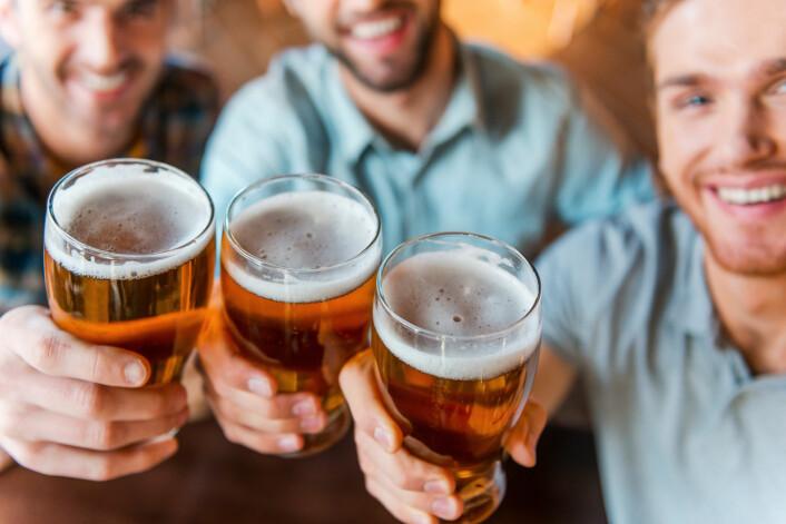 Vi lenger nord er mer glad i øl. (Foto: Shutterstock / NTB scanpix)